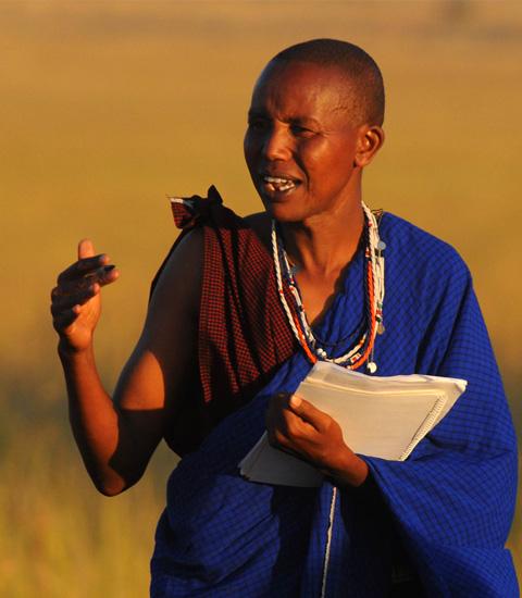 Eric Ole Kesoi - Community Manager