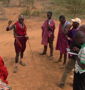 Knowledge Sharing: Mara communities visit Lion Guardians