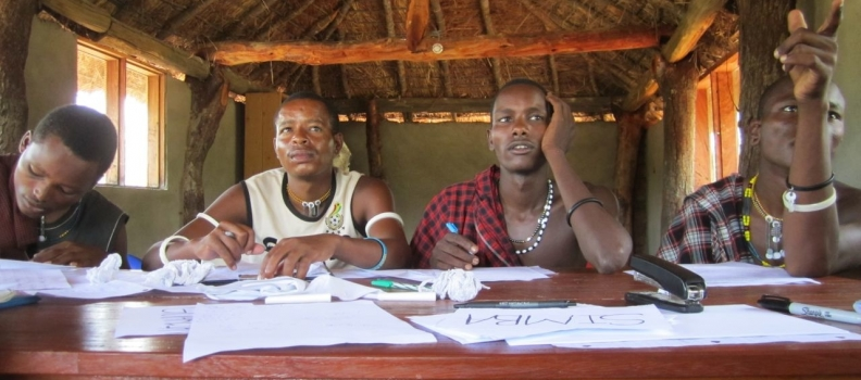 Literacy Training of the Ruaha Lion Guardians