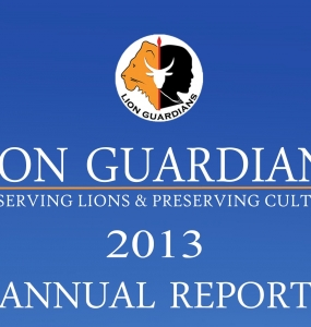 The Lion Guardians 2013 Annual Report is here